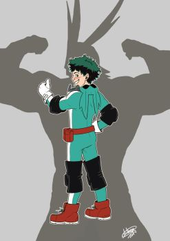 Midoriya shonen! by Blueberry-me