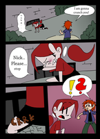 Mina and the count Comic - 9 Page by TheFreakyPanda