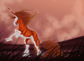 Enola - November Quirlicorn Art Swap by Astralseed