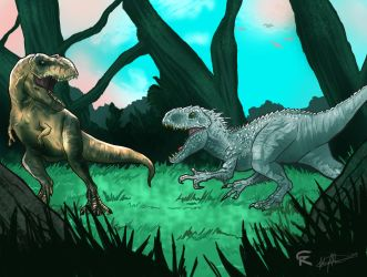 Jurassic World The Killer Kings by gscratcher