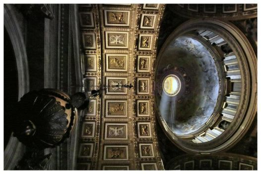 St Peter's Ceiling by aquapell