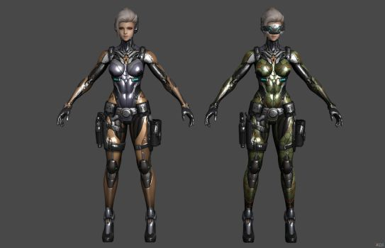 'Ghost in the Shell: First Assault' Reiko XPS ONLY by lezisell
