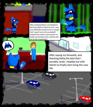 Pokemon Revival comic chapter 1 page 13 by XetaJTS