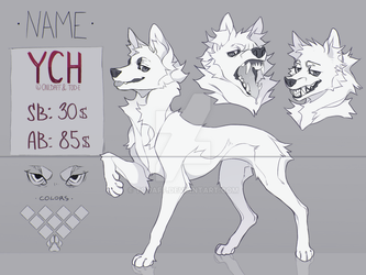 YCH ref sheet auction #1 [CLOSED] by todaff