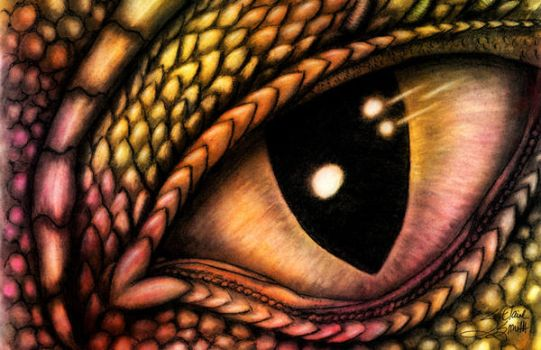 Into the Eye of the Dragon by LainyCakes