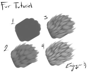 Fur Tutorial+PaintToolSAI Download! by Napoisk