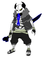 DemiTale: Sans (update) by Crudaka