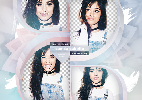 PACK PNG: Camila Cabello by SabDesings