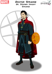 Doctor Strange by Kyle-A-McDonald