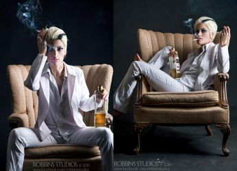 Lucifer from The Wicked and the Divine by RuffleButtCosplay