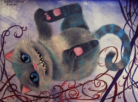 Cheshire Cat by Stupiddoll93