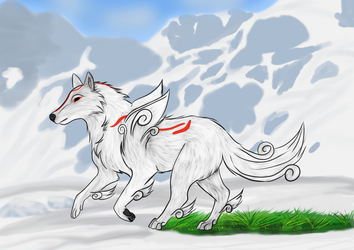 Attempt to Amaterasu by cfaccin