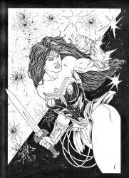 Wonder Woman - Commission by Escape-to-darkness