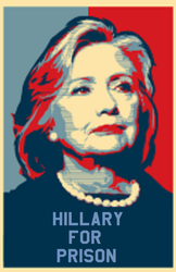 Hillary for prison by bagera3005