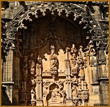 Convent of Christ in Tomar by Tigles1Artistry