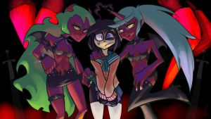 Scanty and Kneesocks' Absolute Territory by Triple-Q