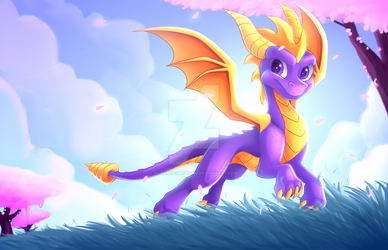 Spyro Reignited Trilogy by Scarlet-Spectrum