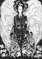 The Archangel of Death by zombie-cat-Shizui