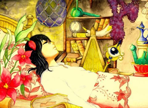Howl's Lucky Charm Room by Cephis