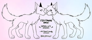 [F2U] Canine Base by criminaIs