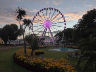 Torquay Ferris Wheel by astateofconfusion