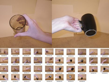 Fem!Hands 8 Stock (Cups) by MostlyGuyStock