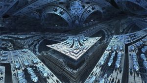 Amazing 3Light - Mandelbulb 3D fractal by schizo604