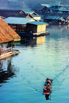 Life On Floating Houses by SAMLIM