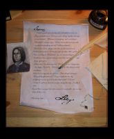 A letter of hope by rawenna