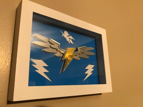 Wonderbolts wings logo shadowboxe by Samoht-Lion