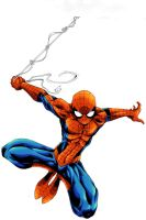 Young-art Spidey by Creation-Matrix