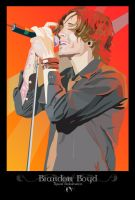 Brandon Boyd Vector by Drigo-