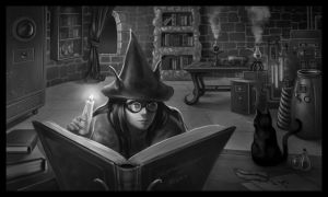 Combustion Engines and Magick by JuneJenssen