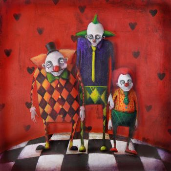 Clowns On The Stage by VladaShayevich