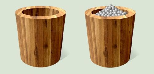 Wooden Recycle Bin by CitizenJustin