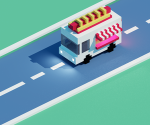Hot Dog Van by l4master
