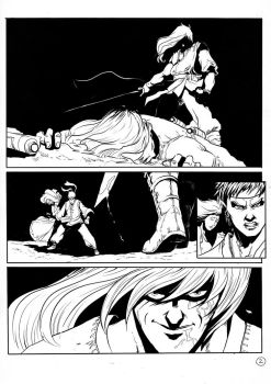 Fantasy Comic page 1 by Nerirearte