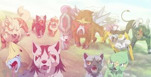Dog Meeting [Pokemon - Ginga Style]