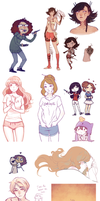 Sketchdump16 by Meli-Lusion