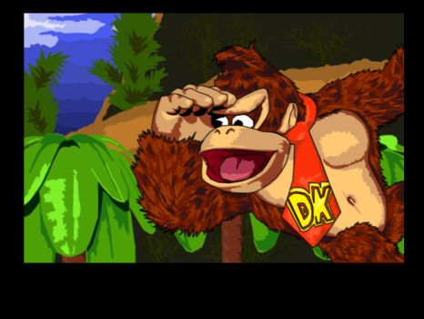 Donkey Kong by simplexcalling