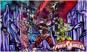 The Power Ranger: Protectors of Earth by Kiarou