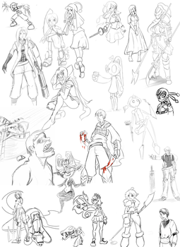 Sketchdump! by Darkflame411