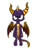 Spyro: Return of the Dragon (Recolored) by TravistheDragon00