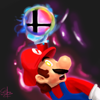 Final Smash Mario by CC3TheArtist
