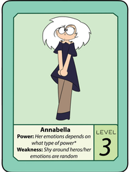OK K.O. Lets Be Heros! Oc: Annabella(Updated Look) by AquaProductions