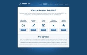 Free PSD Template by tempeescom