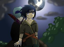 time scip qwinsy :naruto char: by Chibi-C