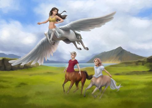 Centaurs of Centorus by Yet-One-More-Idiot