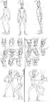M.Lapin - Cartoon expressions by Aohmin
