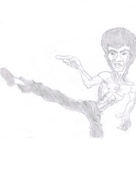 Bruce Lee by tonyliang